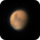 Mars on April 16, 2020,                                Chappel Astro
