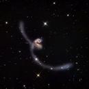 intergalactic Collision - NGC 4038 and 4039,                                Fritz