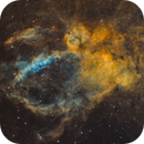 SH2-157 La nébuleuse du homard Lobster Claw Nebula,                                Victor