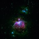 m42nebulosa a emissione +1975 nebulosa  a riflessione   distanza  12.000 A.L.,                                Carlo Colombo
