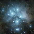 M45: The Pleiades,                                James Newman