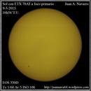 Sol con ETX 70AT,                                Juan A. Navarro