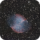 M27 - The Dumbbell Nebula,                                at0mat