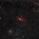 NGC 7635, Nebulosa da Bolha, Bubble Nebula.,                                Antonio Andrade