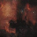 North America and Pelican nebulas,                                Alessandro Cernuzzi