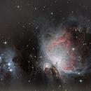M42 Orion &  M43 Running man nebulae,                                Joel85