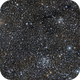 Open clusters NGC 663, 654, IC 166 and vdB 6 in Cas,                                GJL