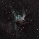 Thor's Helmet / Duck Nebula,                                James R Potts