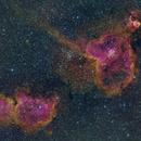 Heart and Soul Nebula,                                Callum Mitchell
