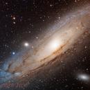 Andromeda Galaxy M31,                                Jyrki