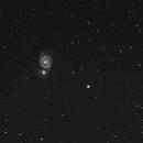 Whirlpool Galaxy,                                Mick Ladner