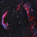 The Veil Nebula,                                CrestwoodSky