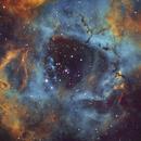 Rosette Nebula in SHO,                                Diego Gravinese