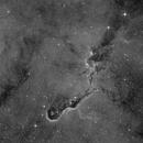 IC 1396 - Elephants Trunk - HAlpha,                                Jonas Illner