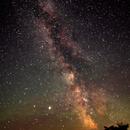 Southern summer sky - very wide,                                Ian Dixon