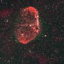 NGC 6888 bi color,                                Frank Rauschenbach