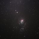 Lagoon Nebula (M8),                                Geovandro Nobre