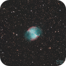 M27 - Dumbell Nebula,                                Kyle Pickett