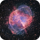 M27 - Dumbbell Nebula - Liverpool Telescope HaRGB - please zoom!,                                Daniel Nobre