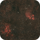 NGC6334 Cat's Paw Nebula & NGC6357 ,                                Hata Sung