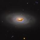M 64 the black eye galaxy,                                Christoph Lichtblau