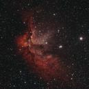 NGC-7380 Wizard Nebula in HOO,                                Ryan Kinnett