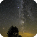 Milky Way  south west with Mars and Saturn,                                C.A.L. - Astroburgos