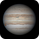 Jupiter with GRS on May 19, 2020,                                Chappel Astro