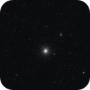My first imaging attempt on a globular cluster - M3 @ 135mm,                                Ian Dixon
