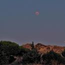 Eclipse Luna y Marte,                                Jesus Magdalena