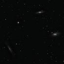 "Leo Triplet (M66, M65 and NGC 3628) - 6"" Newtonian Untracked,                                Antonis Karousis"