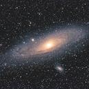 Andromeda - Late Summer, Bortle 4, 1h 28m,                                psychwolf