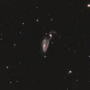NGC5394/5395 ARP84 Heron Galaxy,                                Bob Rucker