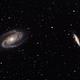 M81 M82 with RASA 8,                                Roman