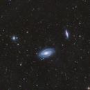 M81/M82 + Integrated Flux Nebula,                                Austin