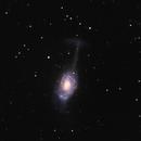 NGC 4651 - The Umbrella Galaxy,                                James E.