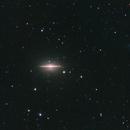 M104 Sombrero Galaxy,                                Andrea Pistocchini - pisto92