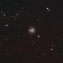 Galaxie NGC 3344 im Kleinen Löwen (Leo Minor),                                astrobrandy