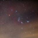 Orion through the haze,                                Jeffrey Horne
