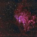 IC 405 The Flaming Star Nebula,                                Lensman57