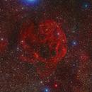 Sh2-240 HaRGB Widefield,                                Greg Nelson