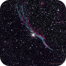 NGC 6960 Western Veil Nebula  Supernova Remnant,                                astrobillbinMontana