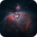 M42 : one year after my begining in astrophotography on deep space (2nd processing),                                Francis Neptunion31