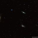 Triplet of Galaxies in Leo (NGC3628,M65 and M66),                                phoenixfabricio07