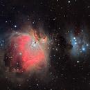Orion Nebula (M42), Running Man Nebula, NGC 1977,                                Norman Tajudin