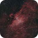 The Pillars of Creation in the Eagle/Star Queen Nebula (HOO Palette),                                Diego Cartes