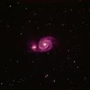 M51 Whirlpool Galaxy,                                Benjamin Birr