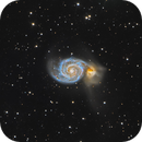 M51 The Whirpool Galaxy,                                Benjamin Lefevre