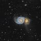 M51 The Whirpool Galaxy,                                Benjamin Lefevre
