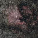 NGC 7000 & IC 5070   North America / Pelican Nebula,                                Günther Dick